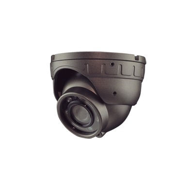 Domo Analógico 800TVL, Antivandálico 2.8 mm con micrófono compatible con DVRs móviles XMR EPCOM Series