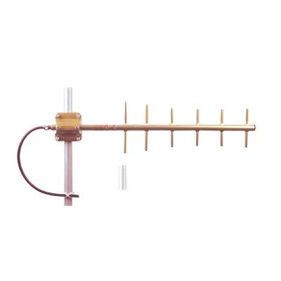 Antena Yagui de 6 Elementos, Frec. 406-430 MHz, 10.2 dB