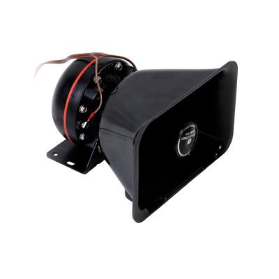 Bocina de uso Rudo, de 100 W, Alto Rendimiento y Base en Aluminio, 8 Ohms de Impedancia