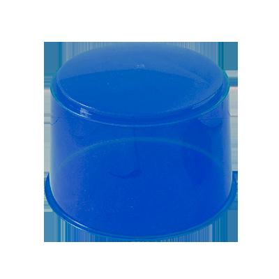 Domo de reemplazo para luz giratoria económica (modelo 100), color azul