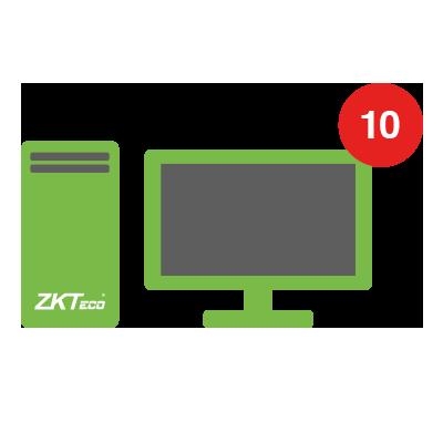 Licencia para modulo de visitantes con 10 estaciones de registro