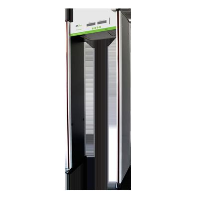 Arco Detector de Metales de 6 Zonas contador de personas yde activaciones de alarmas.