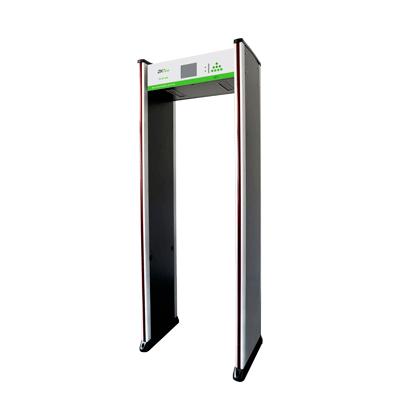 Arco Detector de Metales de 18 Zonas para Fijarse al Piso. Con contador de personas y activacion de alarmas.