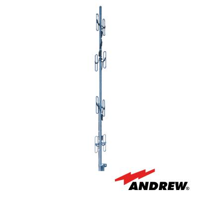 Antena base de 8 Dipolos, 450 - 470 MHz, resistente a humedad y diseño robusto