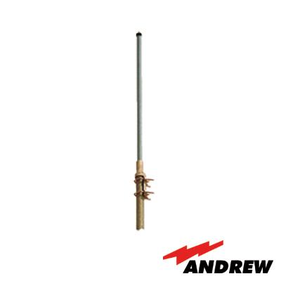 Antena Base, Fibra de Vidrio, Rango de Frecuencia 824 - 896 MHz.