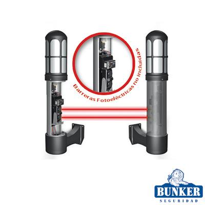 Carcasa ultra resistente y elegante tipo lampara ideal para sensores fotoeléctricos / Uso residencial / Estético y Profesional