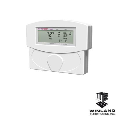 Detector de temperatura y humedad, capacidad 2 zonas, incluye una zona con sensor de temperatura y 1 zona libre