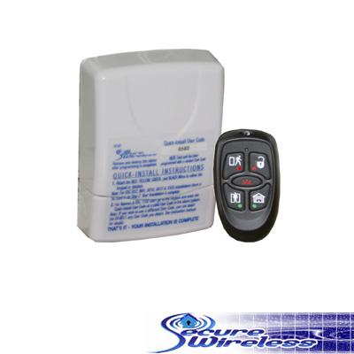 kit de receptor y trasmisor genérico y incluye dos controles