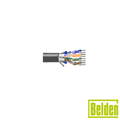 Cable de 12 pares trenzados, estañados, aislados de calibre AWG24 (7x32).