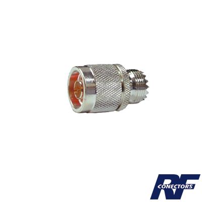 Adaptador de conector N macho a UHF hembra (SO-239)