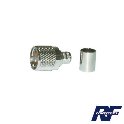 Conector UHF macho (PL-259) para LMR-400, 9913, CTN-400, 7810A, 8214, RG8/U-SYS, RFLASH-1113