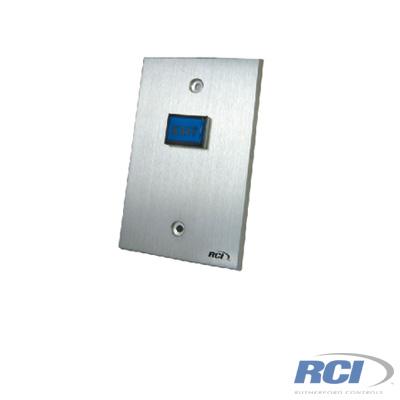 Botón de salida con placa de aluminio reforzado normalmente abierto y cerrado certificado UL