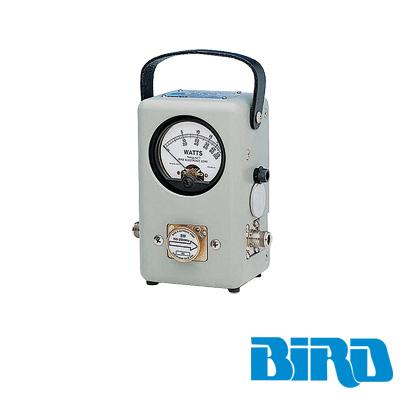 Wattmetro BIRD de Propósito General, Serie 43, 100 mW-10 kW y con Rangos de Frecuencias desde 450 kHz a 1260 MHz, según el elemento (No Incluido).