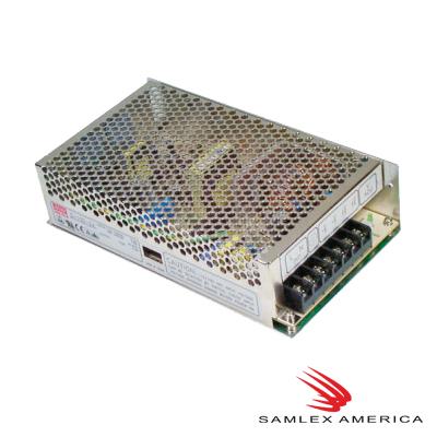Fuente de poder, industrial de CD, 7,5 Vcd, 20 A., 150 Watt con gabinete.