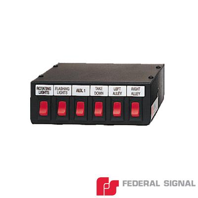 Conjunto de 6 Interruptores para Barra de Luces.