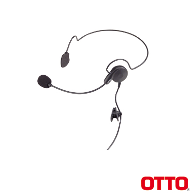 Diadema BREEZE para Motorola EP350-450-450S, MAGONE, MOTOTRBO: DEP450,XPR3000,CP200D. Hytera TC500-600