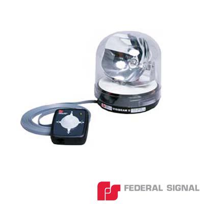 Lámpara direccional con controlador de luz de halógeno de 100 W con control alámbrico