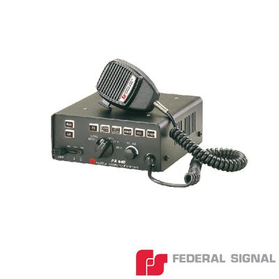 Sirena electrónica de 100 W con control para 6 luces auxiliares e interconexión para radio
