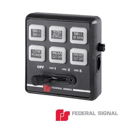 Controlador serial de 6 botones para barras de luces