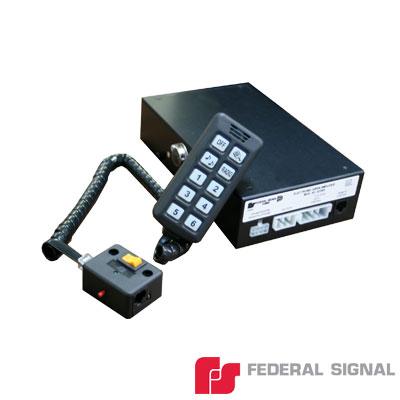 Sistema de Sirena y Caja de Switches a Control Remoto 100 Watts de Potencia