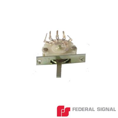 Switch de control deslizable para sirena PA640