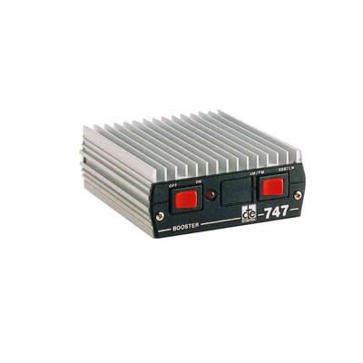 Amplificador de potencia, 200 W en banda lateral y 100 Watts en AM - FM
