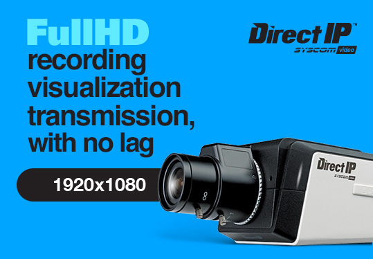 Full HD recording, visualization, transmission with no lag
