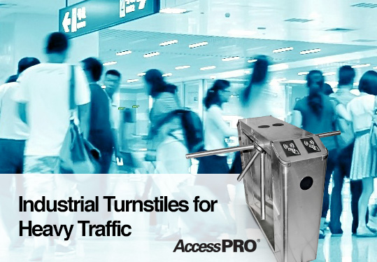 Industrial Turnstiles for Heavy Traffic