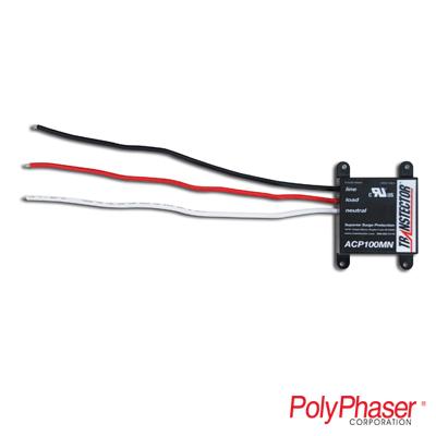 Protector para líneas de corriente alterna de 120 Vca