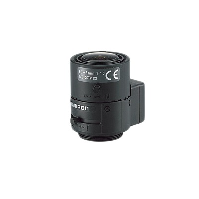Lente Varifocal 3-8mm, Iris Automatico, Formato 1/3.