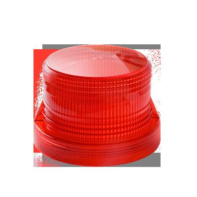 Domo de reemplazo para FireBolt Plus, color rojo