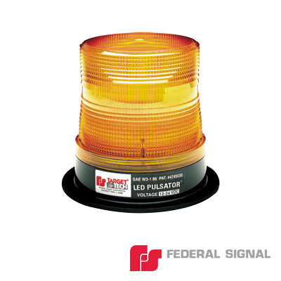 Burbuja PULSATOR LED clase 1, Color ambar, Montaje permanente