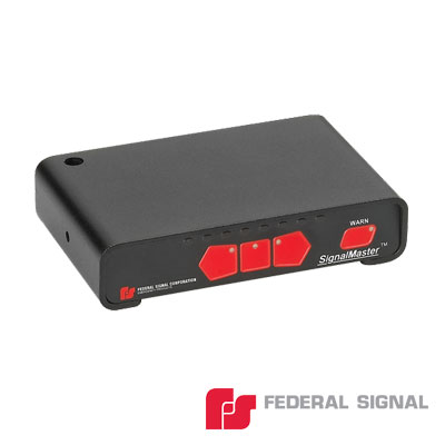 Controlador básico para SignalMaster de 6 o 8 módulos, 12 ó 24 Vcd, 7 patrones de destello seleccionables por el instalador