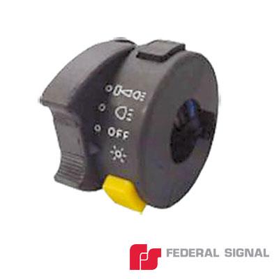 Interruptor de 4 posiciones para manejo de luces y sirena de motocicleta