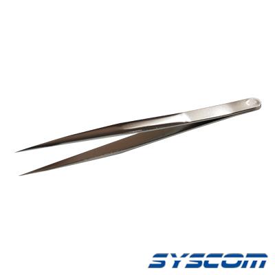 Pinza sólida de acero al cabrón con punta fina tipo Boley, 4 3-4 (12.0 cm) de largo.