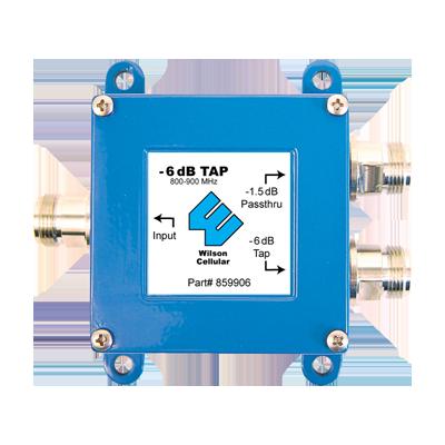 Separador para 800-1900 MHz con 6 dB y 1.5 dB de atenuación.