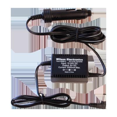 Convertidor de Voltaje 12 - 6 Vcd para vehículo.