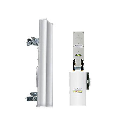 Antena sectorial para radio estaciones base airMAX de 120 grados de cobertura horizontal, 2 GHz (2.3-2.7 GHz) de 15 dBi