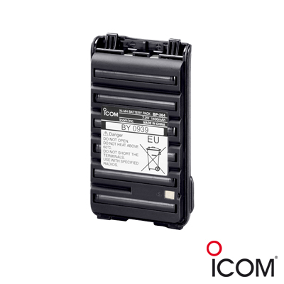 Batería Ni-MH, de 1400 mAh, para radios IC-F3003-4003, F3103D-4103D, F3210D-4210D