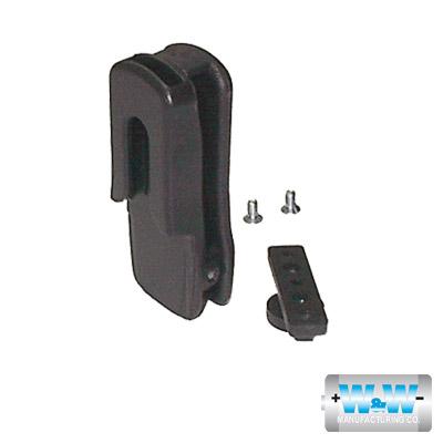 Clip con rótula. Para radios TK-2100/ 3100, TK-2102/ 3102/ 2102G/ 3102G, TK-260G/ 270G 360G/ 370G/ 272G/ 372G, TK-280/ 380, TK-480/ 481 TK-2180/ 3180