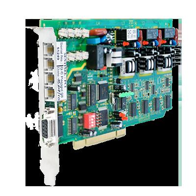 Central Receptora con Un Canal de Radio UHF con Formato PAF.