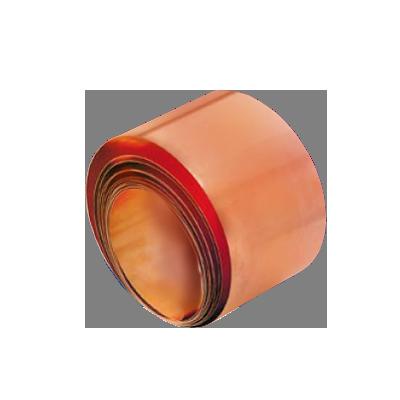 Tira de cobre de baja inductancia para conexión a tierra, 7,620 x 38 mm. (CS112-25)