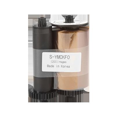 Cinta de impresión full color con impresión ultravioleta compatible con SMART50 y SMART30