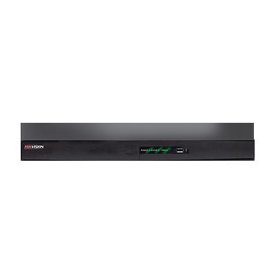 NVR híbrida de 8 canales análogos + 8 canales IP(4 canales en HD) HDMI - VGA, 1 canal de audio