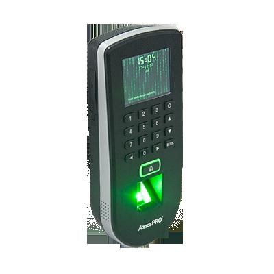 """Lector Biométrico de Huella - Proximidad - Teclado - TCP-IP - Hasta 3,000 Huellas - Pantalla de 3"""""""
