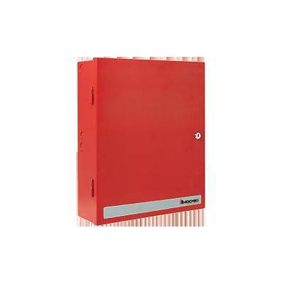 Fuente de poder, Selecciona 12 o 24 Vcd 3A O 1.45 A Gabinete color rojo.
