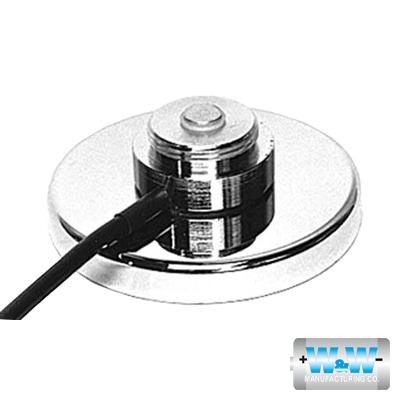 Montaje Magnético para Antenas de 3/4(NMO), 3.5 m de Cable RG58U y Conector UHF (PL259) Macho.