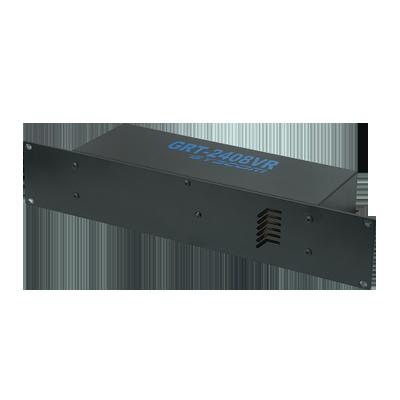 """Fuente de poder para CCTV con 16 salidas con montaje en rack 19"""" 24 Vca, 8 A"""