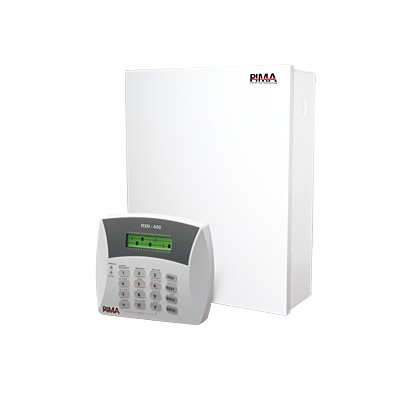 Kit de Alarma de 6 zonas y teclado Alfanumérico programador. Triple comunicador RADIO/Teléfono/GSM. Incluye gabinete