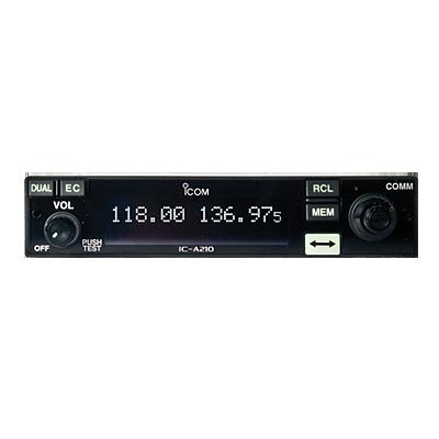 Radio Móvil Aéreo Tx-Rx 118.000-136.975MHz, 25W PEP, 200 canales de memoria.